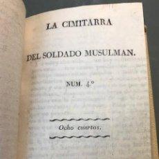 Livros antigos: LA CIMITARRA DEL SOLDADO MUSULMAN. Lote 230089935