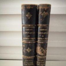 Libros antiguos: HISTORIA DE LA POESÍA HISPANO-AMERICANA I Y II COMPLETA MENÉNDEZ PELAYO 1911. Lote 234285700