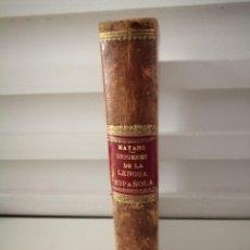 Libros antiguos: ORÍGENES DE LA LENGUA ESPAÑOLA GREGORIO MAYANS 1873. Lote 234353090