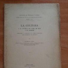 Libros antiguos: 1934 LA CULTURA Y SU ENEMIGO DE AYER, DE HOY Y DE SIEMPRE - CLEMENTE RICCI. Lote 234875425