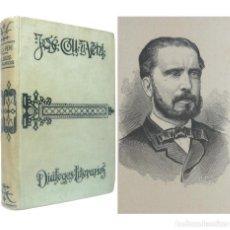 Libros antiguos: 1907 - DIÁLOGOS LITERARIOS DE RETÓRICA Y POÉTICA - JOSÉ COLL Y VEHÍ - PRÓLOGO DE M. MENÉNDEZ PELAYO. Lote 234980015