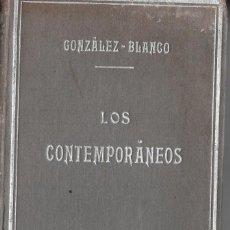 Libros antiguos: BUSCADOS ESTUDIOS SOBRE VALLE-INCLÁN Y OTROS AUTORES A PRINCIPIOS DEL S. XX. POR A. GONZÁLEZ BLANCO. Lote 235783630