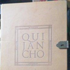 Libros antiguos: CERVANTES SAAVEDRA, MIGUEL DE. - QUIJANCHO. IN FOLIO MAYOR PIEL ENTERA GOFRADA E SECO NERVIOS., ( L. Lote 236972695