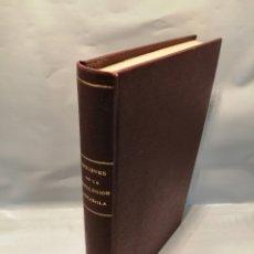 Libros antiguos: ORÍGENES DE LA REVOLUCIÓN EN ESPAÑA (PERFECTO RETAPADO TELA TAPA DURA CON DORADOS). Lote 237838180