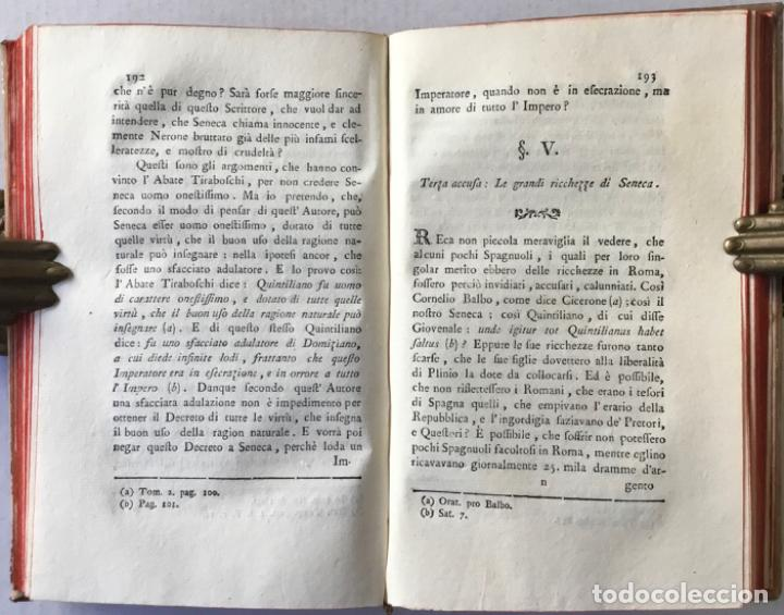 Libros antiguos: SAGGIO STORICO-APOLOGETICO DELLA LETTERATURA SPAGNUOLA. Contro le pregiudicate opinioni di alcuni... - Foto 5 - 238410415