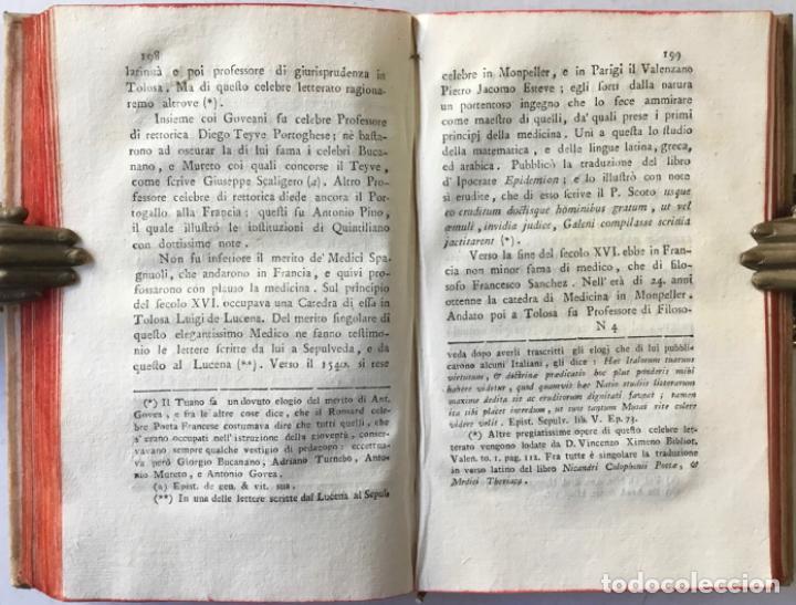 Libros antiguos: SAGGIO STORICO-APOLOGETICO DELLA LETTERATURA SPAGNUOLA. Contro le pregiudicate opinioni di alcuni... - Foto 11 - 238410415