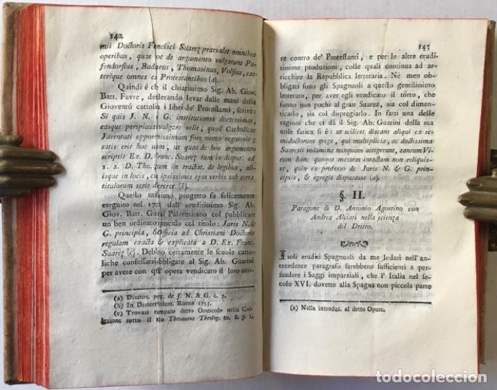 Libros antiguos: SAGGIO STORICO-APOLOGETICO DELLA LETTERATURA SPAGNUOLA. Contro le pregiudicate opinioni di alcuni... - Foto 13 - 238410415