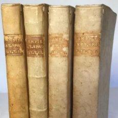 Libros antiguos: SAGGIO STORICO-APOLOGETICO DELLA LETTERATURA SPAGNUOLA. CONTRO LE PREGIUDICATE OPINIONI DI ALCUNI.... Lote 238410415