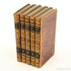 Libros antiguos: MEMORIAS DE DON MANUEL GODOY PRÍNCIPE DE LA PAZ, 1839, 5 TOMOS, LIBRERIA AMERICANA, PARIS. 21X12,5CM. Lote 240173190