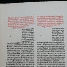 Libros antiguos: VOCABULARIO ESPAÑOL - LATINO POR ELIO ANTONIO DE NEBRIJA. FACSÍMIL DE LA PRIMERA EDICIÓN, POR ACUERD. Lote 240225685