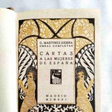 Libros antiguos: 1921 - LEJÁRRAGA: CARTAS A LAS MUJERES ESPAÑOLAS. Lote 241183360