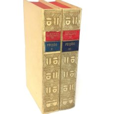 Livros antigos: 1924 - ILUSTRACIÓN ESPAÑOLA - FEIJOO: TEATRO CRÍTICO UNIVERSAL - ENSAYOS RAROS Y CURIOSOS. Lote 241425155