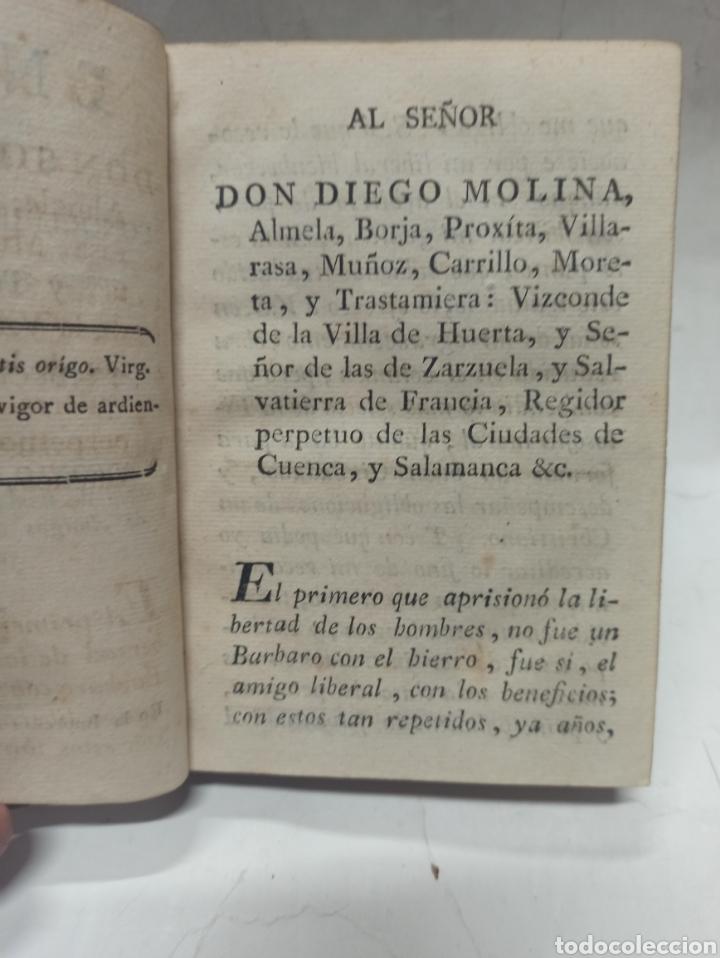 Libros antiguos: ENSAYO SOBRE LOS CONOCIMIENTOS DEL HOMBRE, MURCIA, IMPRENTA VIUDA DE TERUEL, 1793, PIEL DE EPOCA - Foto 5 - 242152845