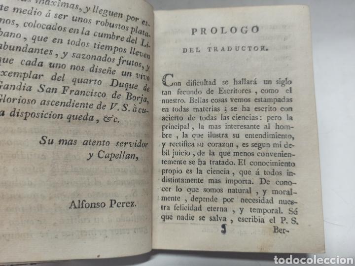 Libros antiguos: ENSAYO SOBRE LOS CONOCIMIENTOS DEL HOMBRE, MURCIA, IMPRENTA VIUDA DE TERUEL, 1793, PIEL DE EPOCA - Foto 6 - 242152845