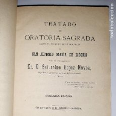Libros antiguos: COMPLETO MANUAL SOBRE CÓMO PREDICAR: ESTILO, PREPARACIÓN, RECURSOS, TIPOS DE SERMONES. HUESCA, 1889. Lote 247437350
