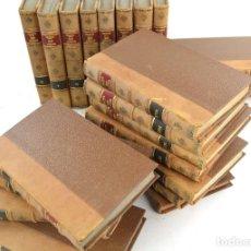 Libros antiguos: VIAJE LITERARIO A LAS IGLESIAS DE ESPAÑA, JOAQUIN LORENZO VILLANUEVA, 22 TOMOS, COMPLETO.. Lote 254357985