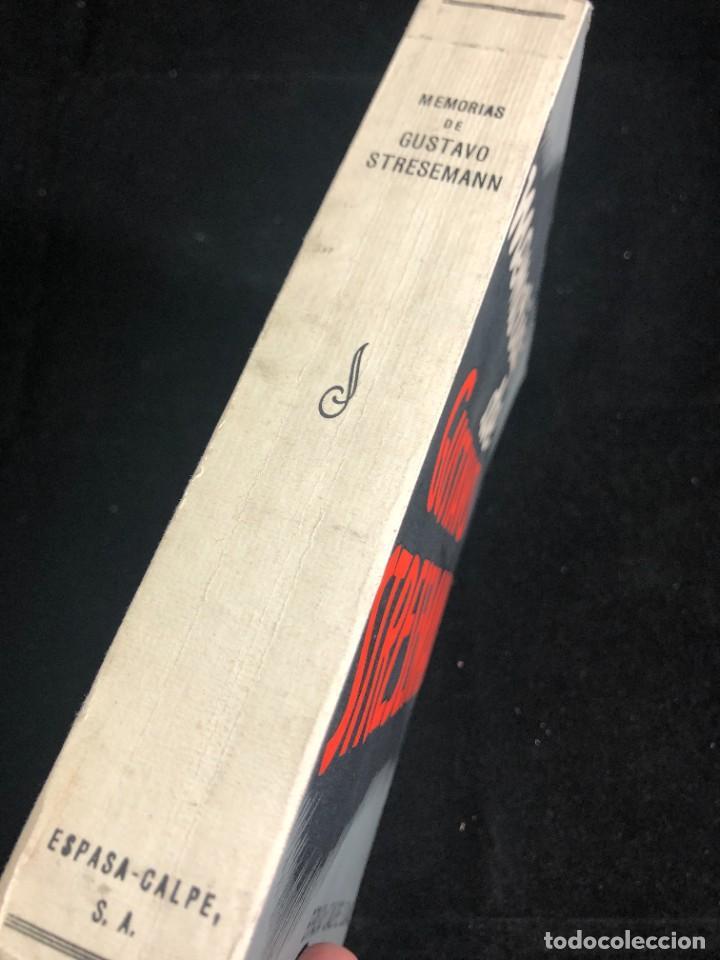 Libros antiguos: MEMORIAS DE GUSTAVO STRESEMANN. TRADUCCION FELIPE VILLAVERDE. ESPASA CALPE 1933. intonso - Foto 2 - 257446830