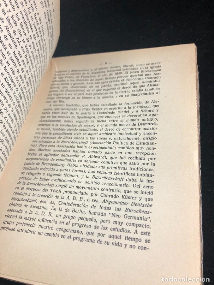 Libros antiguos: MEMORIAS DE GUSTAVO STRESEMANN. TRADUCCION FELIPE VILLAVERDE. ESPASA CALPE 1933. intonso - Foto 4 - 257446830