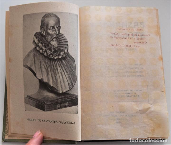 Libros antiguos: ENSEÑANZAS DEL QUIJOTE - F. CLIMENT TERRER - BIBLIOTECA CULTURA Y CIVISMO - LIBRERÍA PARERA 1916 - Foto 3 - 261615015