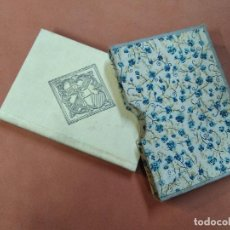 Libros antiguos: CANÇONER CATALÀ - MARIAN AGUILÓ I FUSTER - FACSIMIL 1951 - EXEMPLAR 093/440 - CÇ1. Lote 261909480