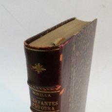 Livres anciens: 1916 - ADOLFO BONILLA Y SAN MARTÍN - CERVANTES Y SU OBRA. Lote 262625110