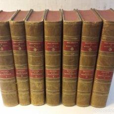 Libros antiguos: 1917-1933 MENÉDEZ PELAYO - HISTORIA DE LOS HETERODOXOS ESPAÑOLES. 7 TOMOS (OBRA COMPLETA). Lote 263593365