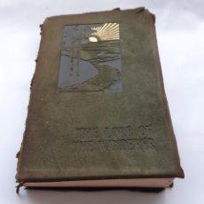 """Libros antiguos: THE LORE OF THE WANDERER, R. L. STEVENSON Y OTROS AUTORES. """"ANTOLOGÍA DEL AIRE LIBRE"""", C.1900. Lote 263630690"""