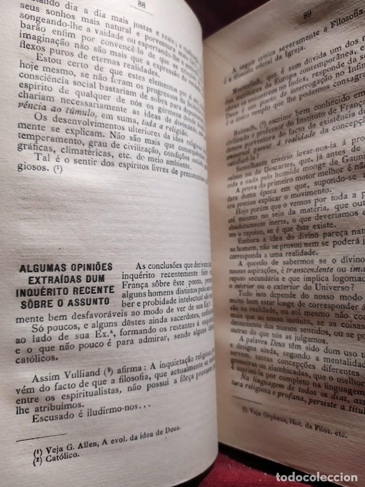 Libros antiguos: 1929. Libertad, ciencia y religión. Almeida e Paiva. - Foto 9 - 264420644