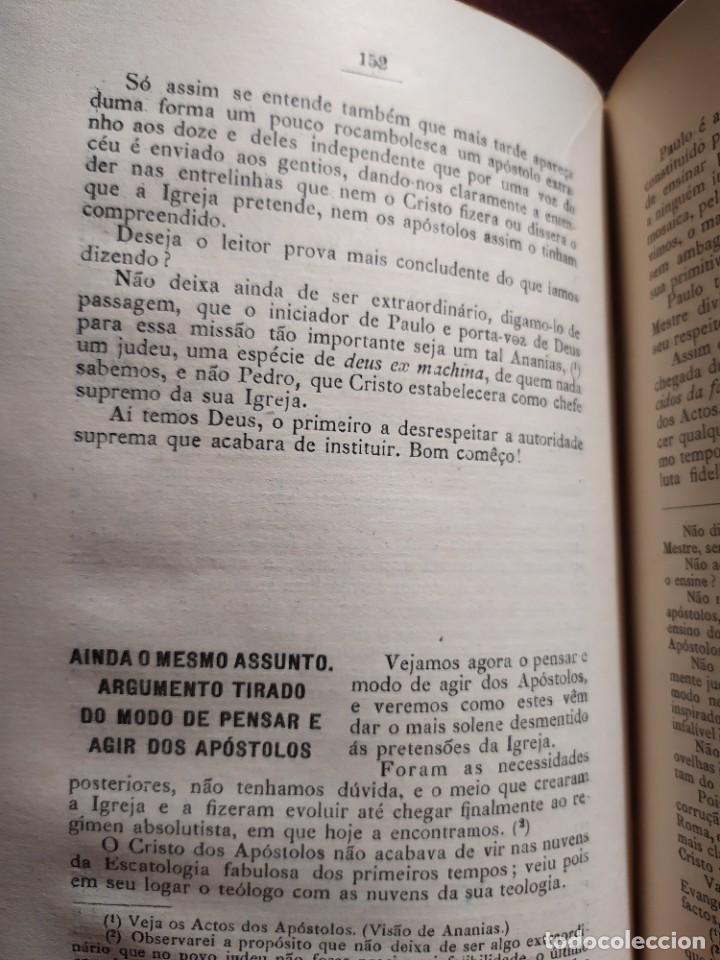 Libros antiguos: 1929. Libertad, ciencia y religión. Almeida e Paiva. - Foto 10 - 264420644