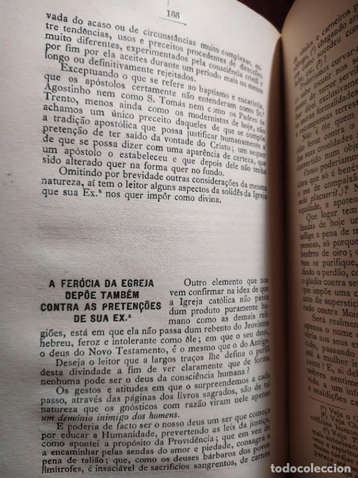 Libros antiguos: 1929. Libertad, ciencia y religión. Almeida e Paiva. - Foto 11 - 264420644
