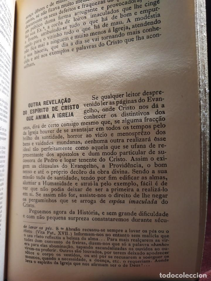 Libros antiguos: 1929. Libertad, ciencia y religión. Almeida e Paiva. - Foto 13 - 264420644