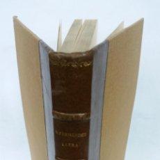 Libros antiguos: 1929 - FERNÁNDEZ LLERA - GRAMÁTICA Y VOCABULARIO DEL FUERO JUZGO. Lote 266309558
