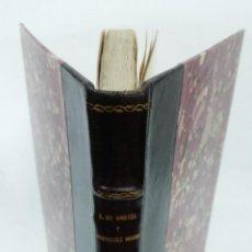 Libros antiguos: 1929 - AMEZÚA / RODRÍGUEZ MARÍN - FORMACIÓN Y ELEMENTOS DE LA NOVELA CORTESANA. DISCURSOS. Lote 266309783