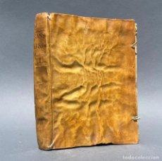 Livres anciens: AÑO 1763 - EL SABIO IGNORANTE - MONASTERIO DE LA MURTA - ALCIRA - PERGAMINO - MEDICINA - CIENCIA. Lote 267027804