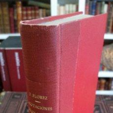 Libros antiguos: 1918 - W. FERNÁNDEZ FLÓREZ - ACOTACIONES DE UN OYENTE. PRIMERA SERIE - 1ª ED., DEDICADO. Lote 269229433