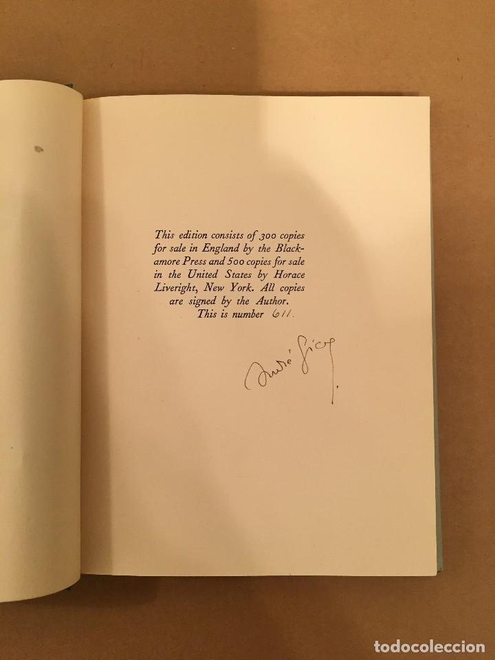 Libros antiguos: MONTAIGNE ANDRE GIDE BLACKMORE PRESS FIRMADO PREMIO NOBEL GAY HOMOSEXUAL PRIMERA EDICION - Foto 2 - 271040888