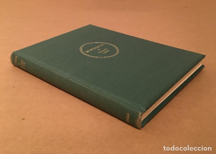 Libros antiguos: MONTAIGNE ANDRE GIDE BLACKMORE PRESS FIRMADO PREMIO NOBEL GAY HOMOSEXUAL PRIMERA EDICION - Foto 12 - 271040888