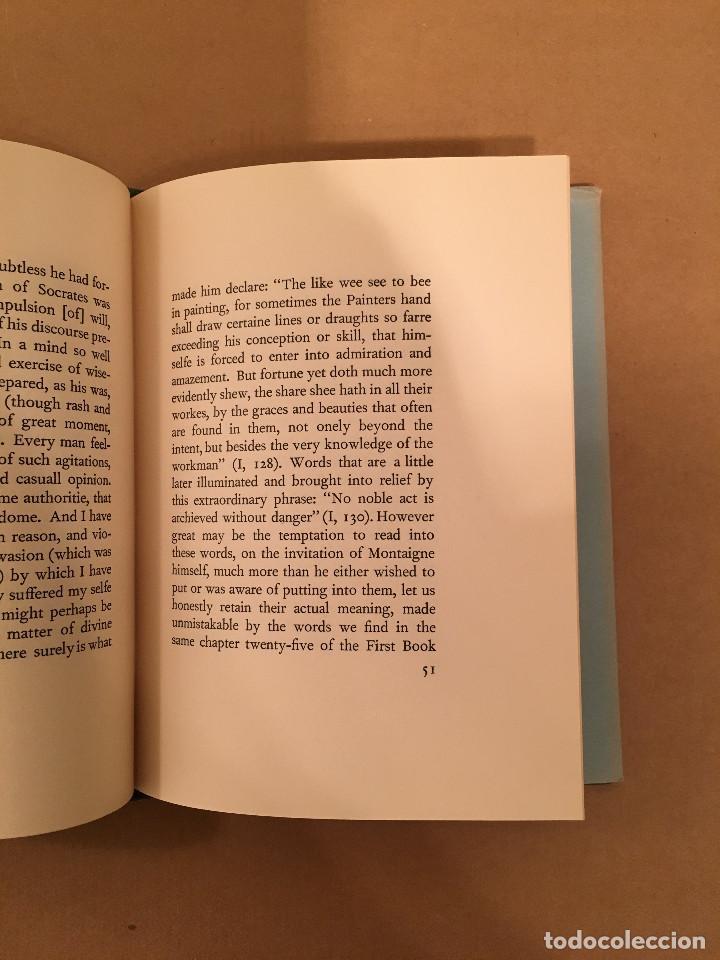 Libros antiguos: MONTAIGNE ANDRE GIDE BLACKMORE PRESS FIRMADO PREMIO NOBEL GAY HOMOSEXUAL PRIMERA EDICION - Foto 18 - 271040888