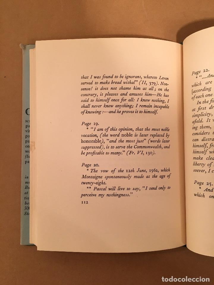Libros antiguos: MONTAIGNE ANDRE GIDE BLACKMORE PRESS FIRMADO PREMIO NOBEL GAY HOMOSEXUAL PRIMERA EDICION - Foto 19 - 271040888