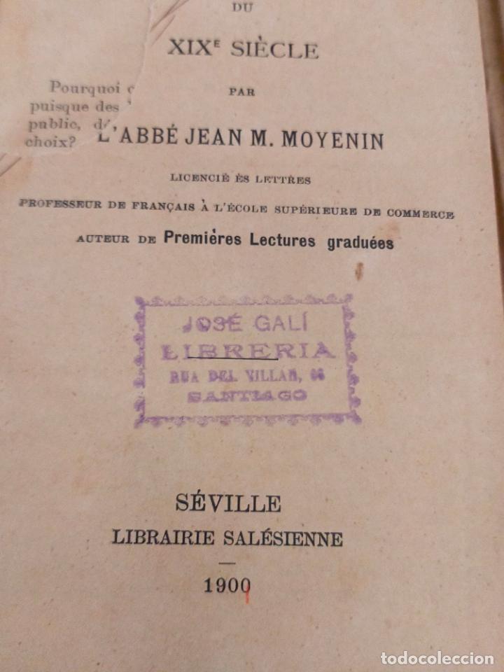 Libros antiguos: tresor litteraire - Foto 3 - 271145698