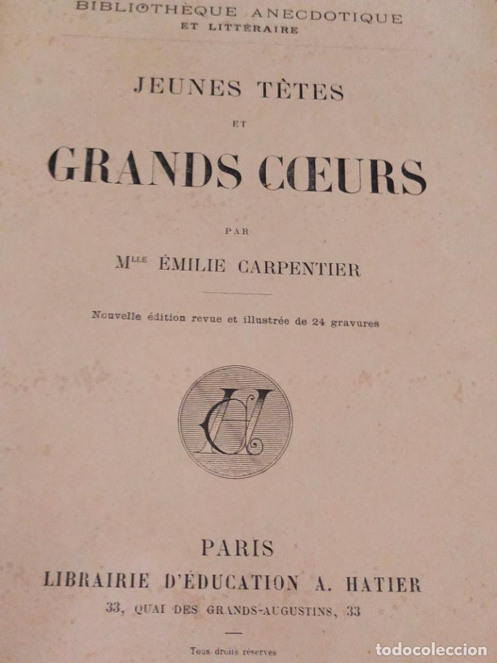 Libros antiguos: carpentier jeunes tete - Foto 3 - 271147193