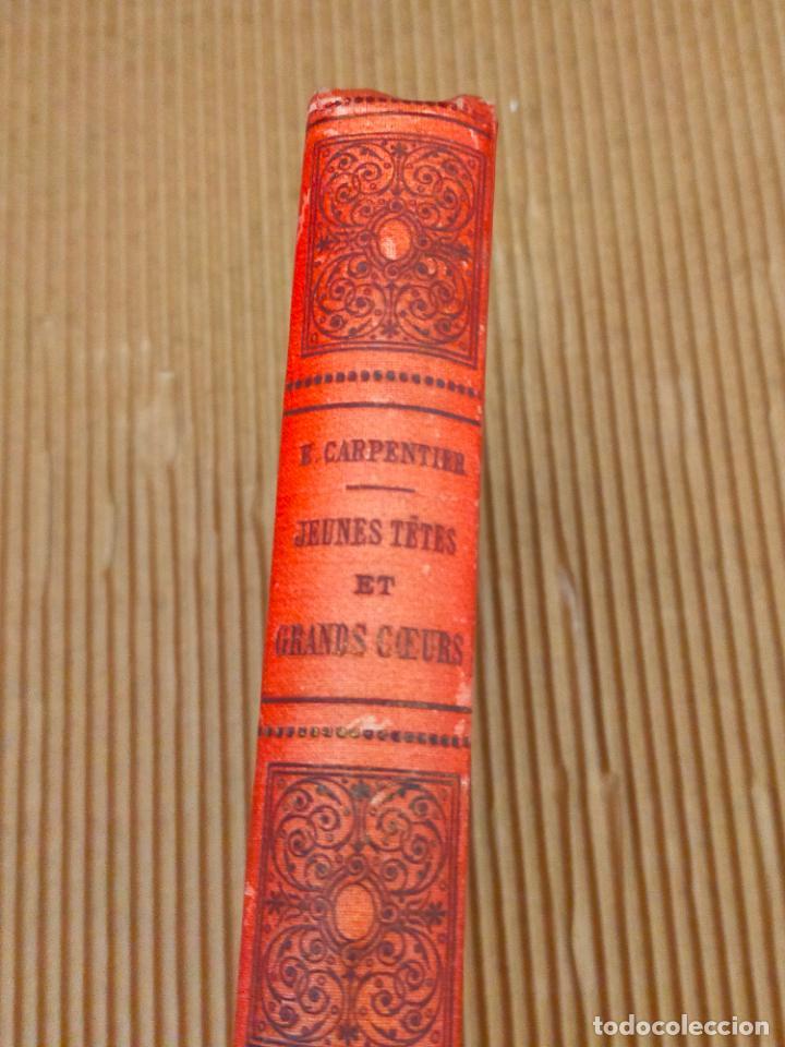 CARPENTIER JEUNES TETE (Libros antiguos (hasta 1936), raros y curiosos - Literatura - Ensayo)