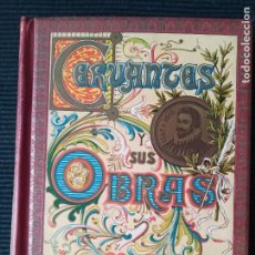 Libros antiguos: CERVANTES Y SUS OBRAS. JOSE MARIA ASENSIO. SEIX EDITOR 1901?.. Lote 274935038