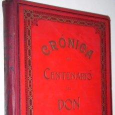Libros antiguos: CRÓNICA DEL CENTENARIO DEL DON QUIJOTE POR MIGUEL SAWA Y PABLO BECERRA EN MADRID 1905. Lote 282689823