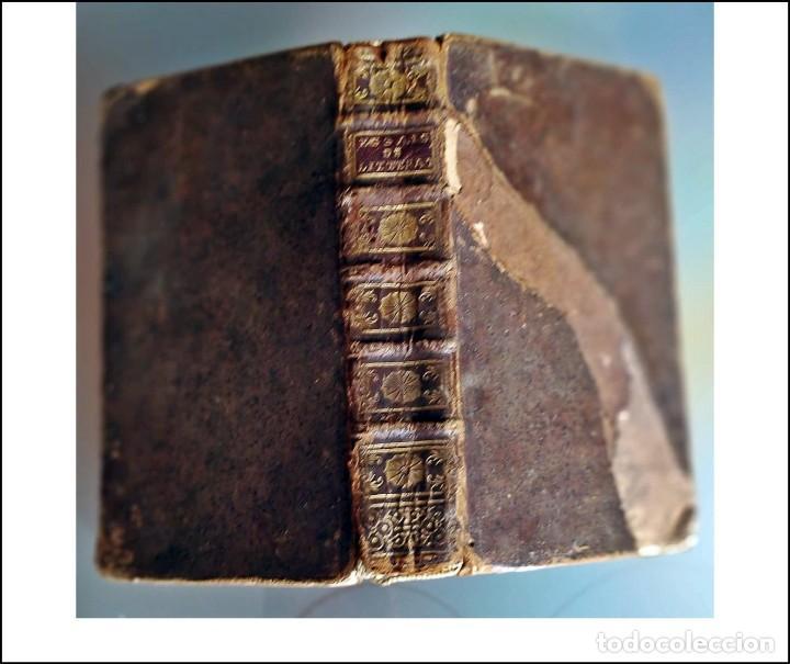 AÑO 1741: ENSAYO SOBRE LITERATURA Y MORAL. LIBRO DEL SIGLO XVIII. (Libros antiguos (hasta 1936), raros y curiosos - Literatura - Ensayo)