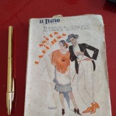 Libros antiguos: ANITA LA RISUEÑA , PRENSA MODERNA , 1911 , ZARZUELA CÓMICA , REF 140. Lote 288060903