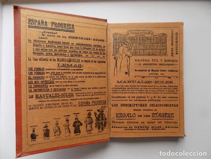 Libros antiguos: LIBRERIA GHOTICA. RAFAEL MAINAR. EL ARTE DEL PERIODISTA. 1910. ILUSTRADO. MANUALES SOLER. - Foto 2 - 288401863