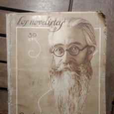 Libros antiguos: URIARTE, LUIS LOS NOVELISTAS, NÚM. 1. 1928. RAMÓN DEL VALLE-INCLÁN. FIN DE UN REVOLUCIONARIO.. Lote 292279873