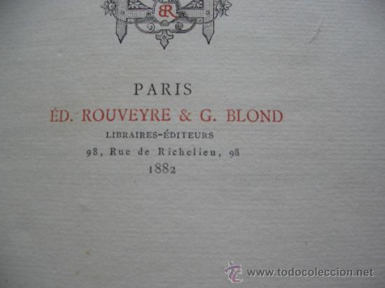 Libros antiguos: CLADEL, Léon Lamour romantique. Préface par Octave Uzanne. Illustrations de A. Ferdinandus. - Foto 6 - 27233054