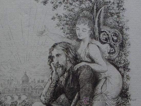 Libros antiguos: CLADEL, Léon Lamour romantique. Préface par Octave Uzanne. Illustrations de A. Ferdinandus. - Foto 10 - 27233054